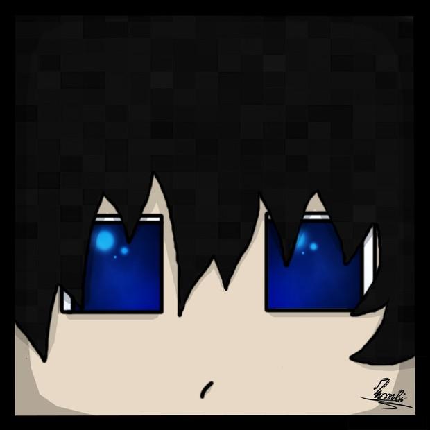 Minecraft Cartoon Head 2D