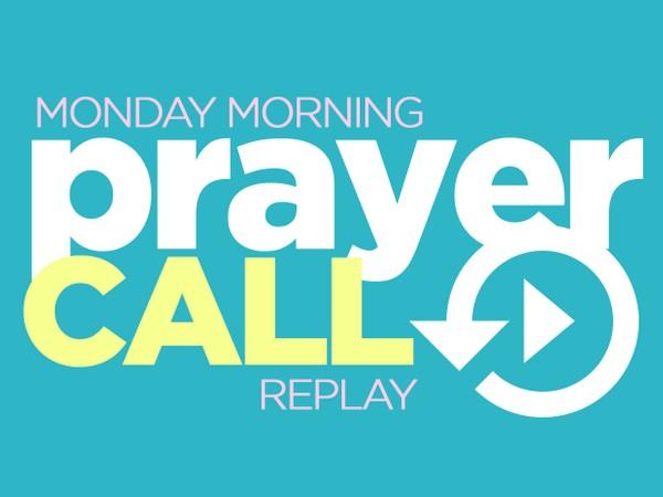 Prayer Call | Don't Lose Hope | 11/2/20