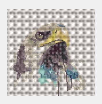 Cross Stitch PDF Eagle