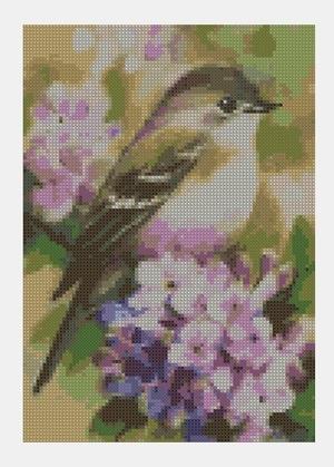 Cross Stitch PDF Bird