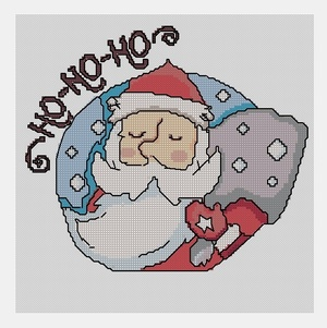 Cross Stitch PDF Christmas