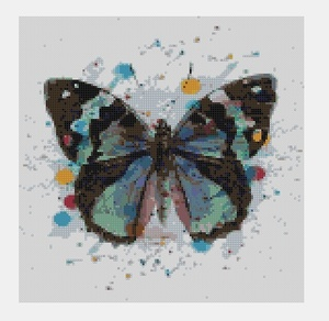Cross Stitch PDF Butterfly
