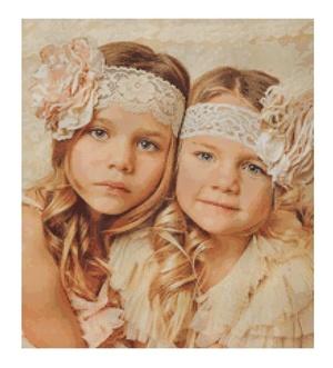 Transform your photo into cross stitch pattern.