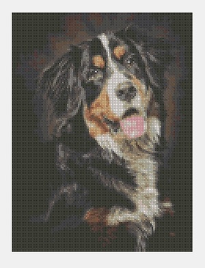 Cross Stitch PDF Dog