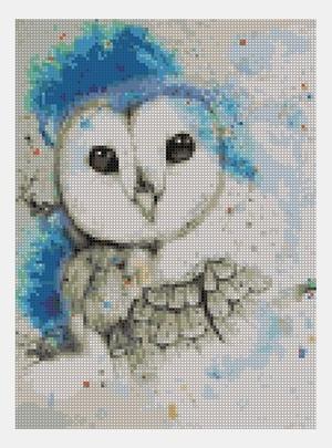 Cross Stitch PDF Owl