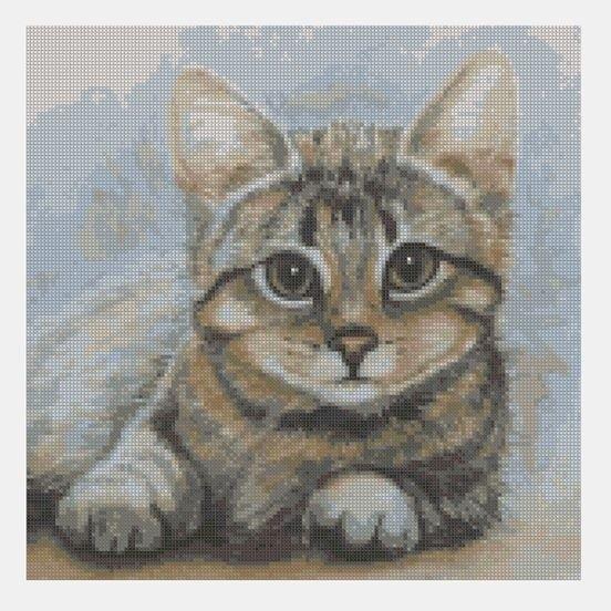 ross Stitch PDF Cat