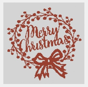 Cross Stitch PDF Christmas