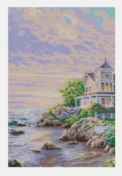 Cross Stitch PDF Landscape