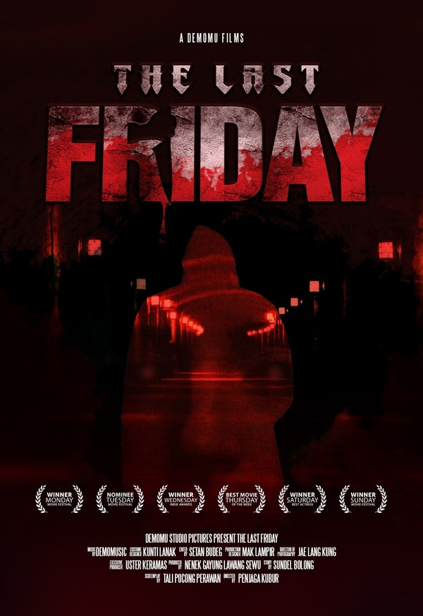 Free Horror Movie Poster Template