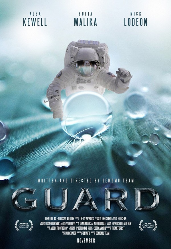 Free Sci-Fi Movie Poster Template PSD