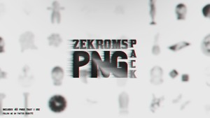zekroms png pack