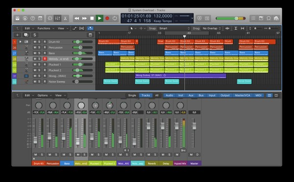 System Overload - Logic Pro X Template