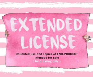 Extended License granting Unlimited use and copies of END-PRODUCT made out of 1 listing