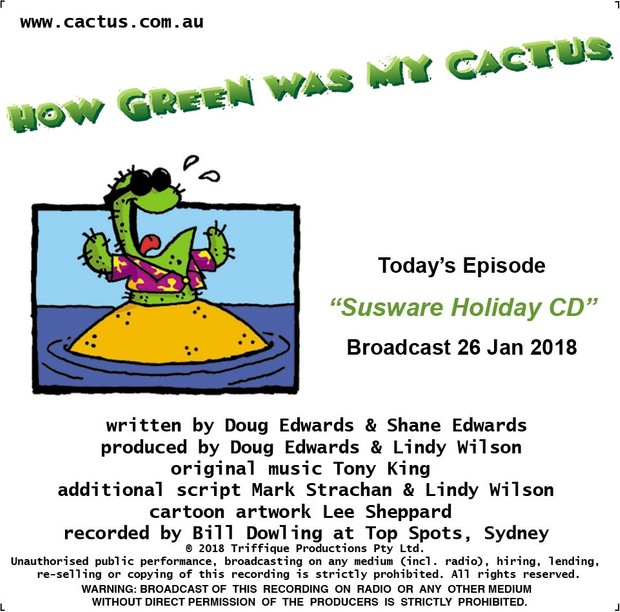 SUSWARE HOLIDAY CD (26.1.18)