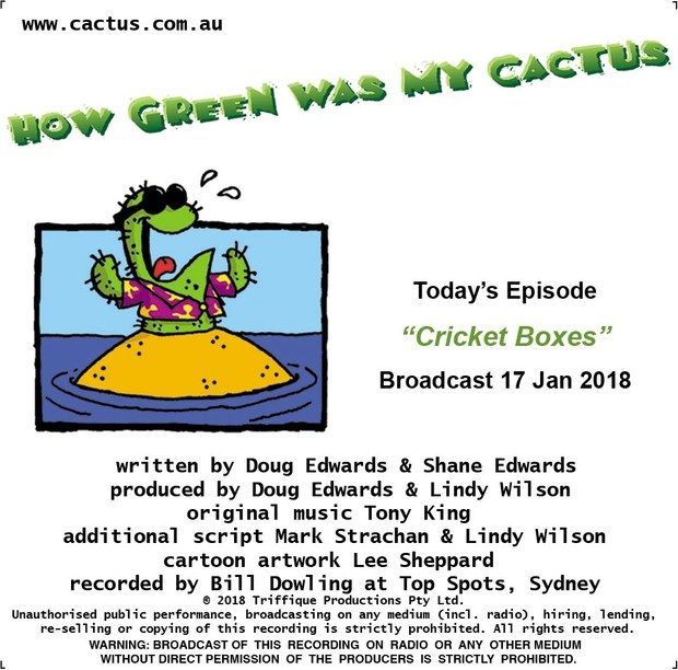 CRICKET BOXES (17.1.18)