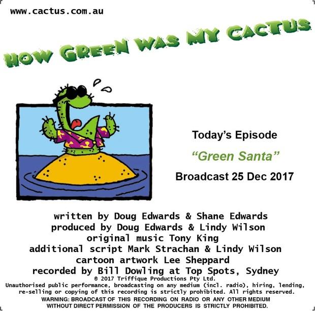 GREEN SANTA (25.12.17)