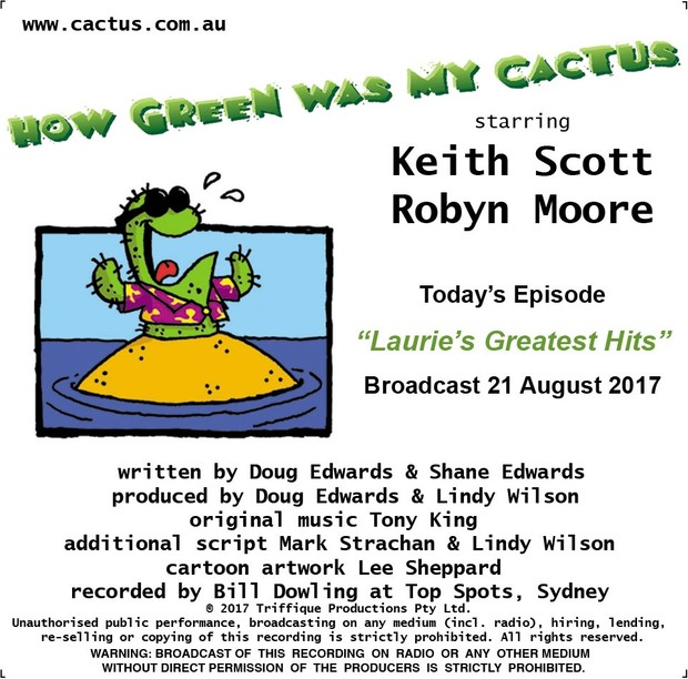 LAURIE'S GREATEST HITS (21.8.17)