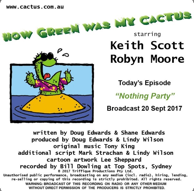 NOTHING PARTY (20.9.17)