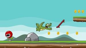 Jumpy Crocodile Gamesalad game salad Full game template
