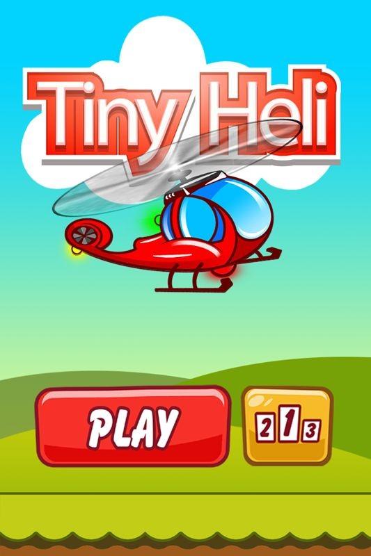 Tiny Heli GameSalad Gamesalad template