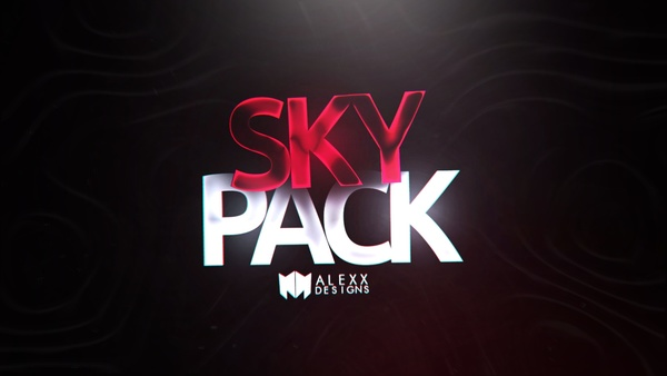 SKY PACK by Alejivzz   FREE Pack (Special 500 Subs) (Alexx Designs old brand name)