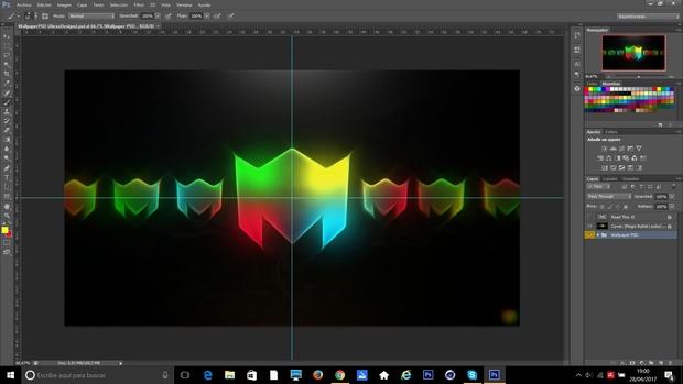 FREE WALLPAPER PSD (AlexxDesigns LOGO) (Project File)