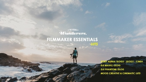 FIlmmaker Essentials LUTs (Sony's Cine4,Slog2,Slog3 - DJi's DLOG & more!