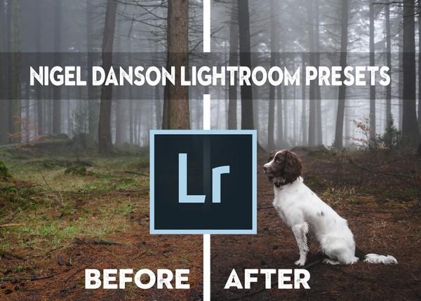 Nigel Danson Lightroom Presets