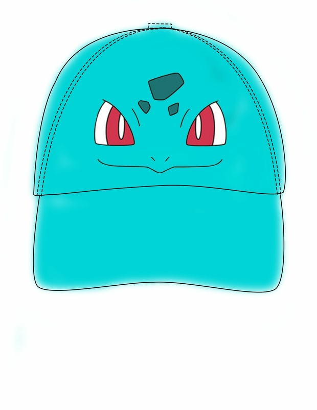 bulbasaur hat template