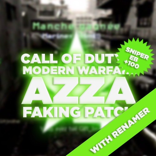 (PS3) CoD4 Faking Patch WITH Renamer! Azza +100 Sniper Only Aimbot