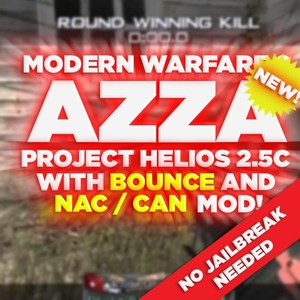 (PS3/MW2) Project Helios v2.5c NAC + BOUNCE MOD *NO JB NEEDED!!* - Azza, Blue Teammates, +550