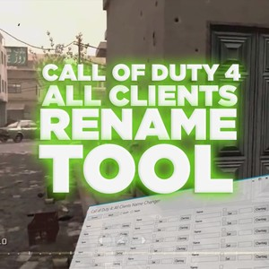 (PS3) CoD4 - All Clients Name Changer!
