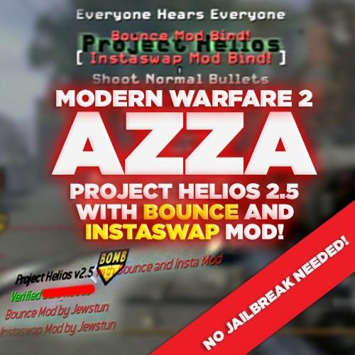 (PS3/MW2) Project Helios v2.5b INSTASWAP + BOUNCE MOD *NO JB NEEDED!!* - Azza, Blue Teammates, +550