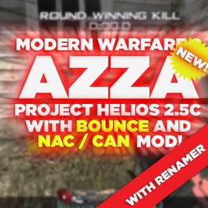 (PS3/MW2) Project Helios v2.5c NAC + BOUNCE MOD & RENAMER - Azza, Blue Teammates, +550