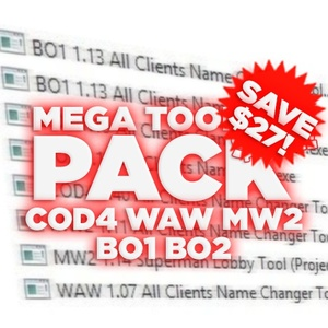 (PS3) HUGE TOOL PACK! SAVE $27 (MW2, COD4, WAW, BO1, BO2) (CCAPI/TMAPI)