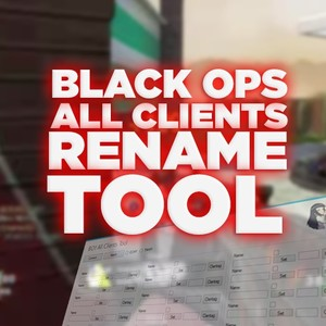 (PS3) Black Ops 1 - All Clients Name Changer!