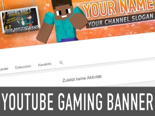 YouTube Gaming Kanalbild