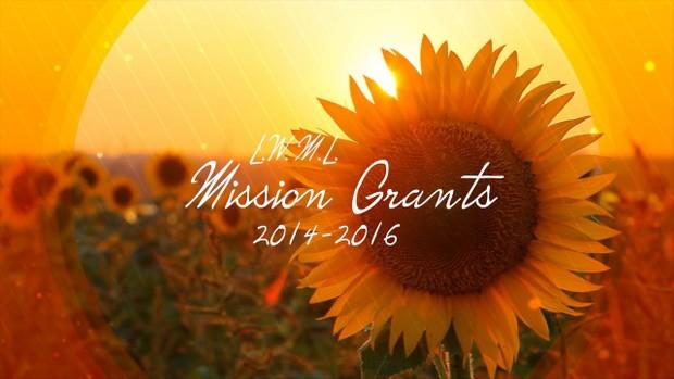 2014 LWML Mission Grants (LWML Texas District)