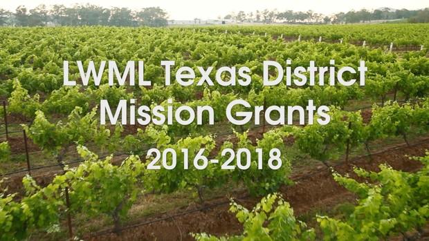 2016 LWML Mission Grants (LWML Texas District)