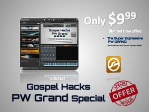 Gospel Hacks PW Grand Special Piano Sample Pack For KONTAKT Only