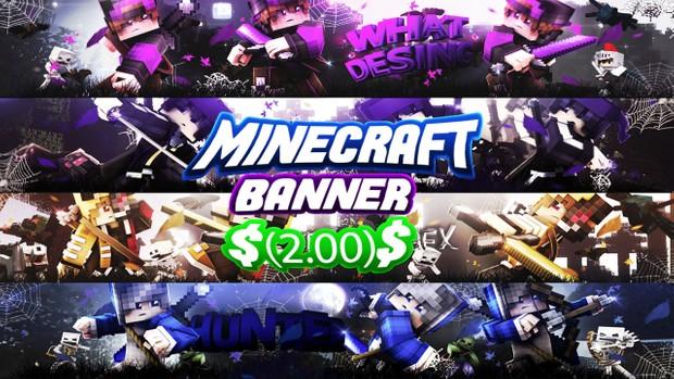 Minecraft Banner (SpeedArt)