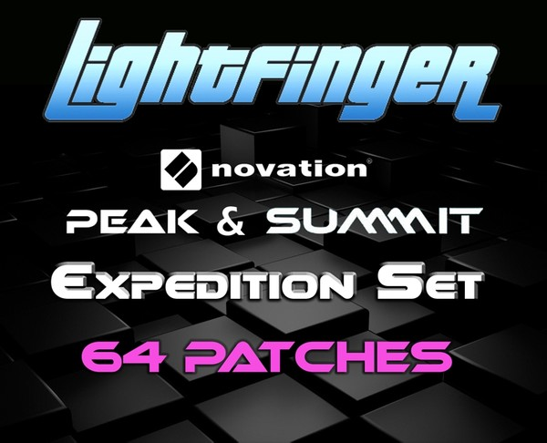 Lightfinger's Expedition Set - Novation Peak 64 Patches