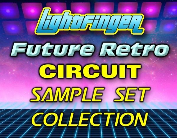 Lightfinger's Future Retro Sample Set Collection for Novation Circuit