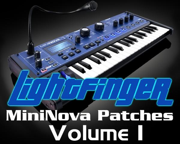 Lightfinger's Novation MiniNova / Ultranova Soundset 1