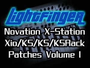 Lightfinger's Novation X-Station/Xio/KS4/KS5/KSRack Patches - Volume 1