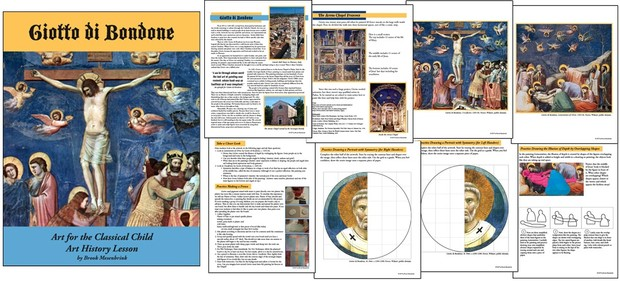Giotto Art History Lesson by Brook Mesenbrink, Art for the Classical Child