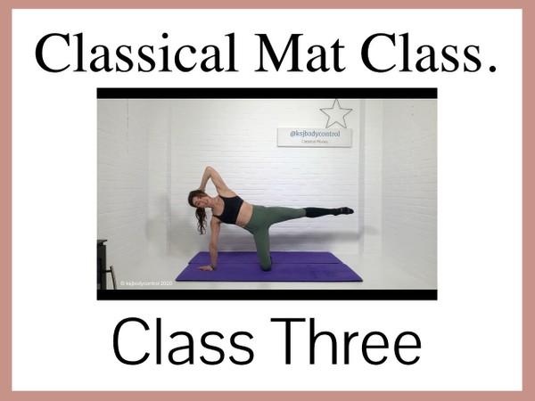 Classical Mat CLASS Three