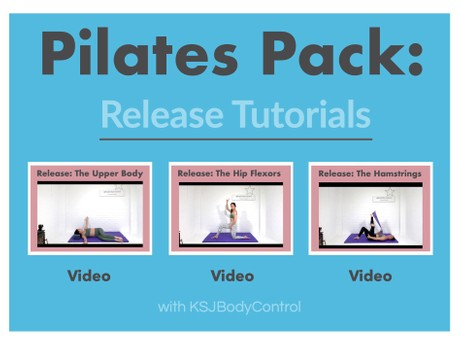 PILATES PACK: Focus On Release 1-3 (Total Running Time 164 Minutes)