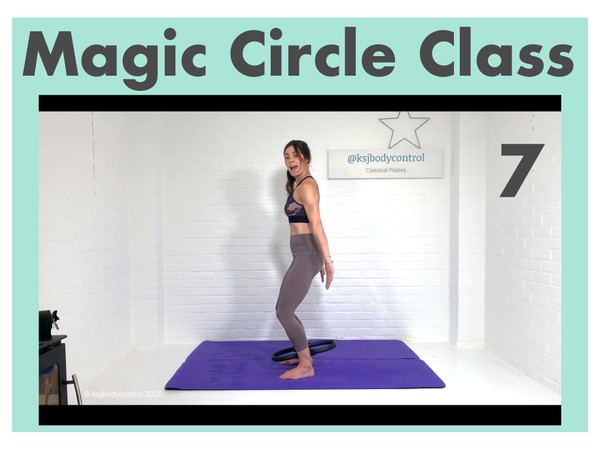 MAGIC CIRCLE Class 7 - Fully Instructed (Running Time: 59 Minutes)
