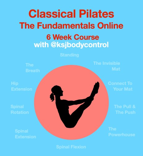 6 Week Course: Next Dates To Be Arranged - 'The Fundamentals - The Building Blocks of Pilates'